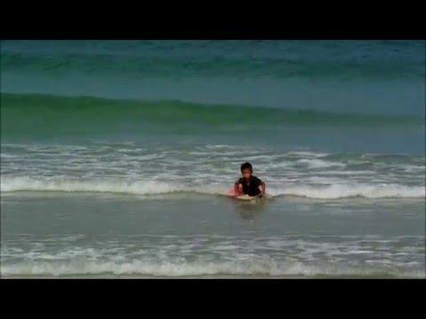 Surfing In Kudat, North Borneo