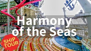Harmony of the Seas Full Walkthrough Tour (2019)