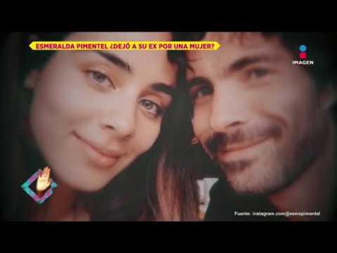 ¿Esmeralda Pimentel Dejó A Osvaldo Benavides Por Una Mujer?   De Primera Mano