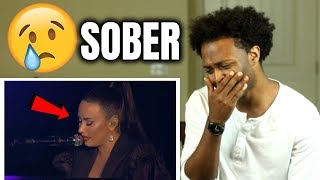 Demi Lovato - Sober (Live From Rock In Rio / 2018) **SHE CRIES** | REACTION |