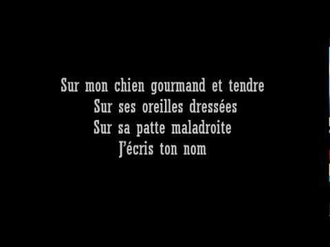 Liberté Paul Eluardwmv