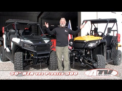 ATV Television Special - Polaris RZR vs Honda Pioneer 500
