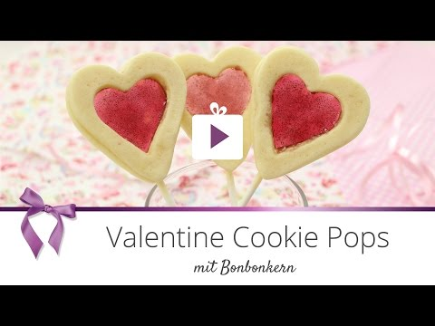 [Backen] Valentine Cookie Pops | DANATO