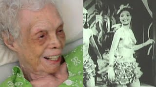 102 y/o Dancer Sees Herself on Film for the First Time Video