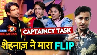 Bigg Boss 13 | Shehnaz Gill FLIPS In Captaincy Task For Asim, Rashmi, Vishal | BB 13 Episode Preview