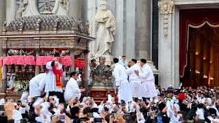 On this episode of you, me and sicily highlights from the festa di saint agata feb 3-5 in catania, one biggest religious festivals world! all...
