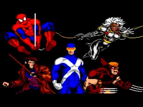 Spider-Man and the X-Men in Arcade's Revenge (SNES) Playthrough - NintendoComplete