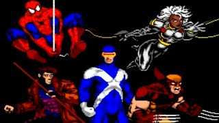 Spider-Man and the X-Men iฑ Arcade's Revenge (SNES) Playthrough - NintendoComplete