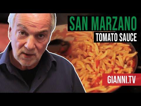 San Marzano Marinara Tomato Sauce, Italian Recipe - Gianni's North Beach