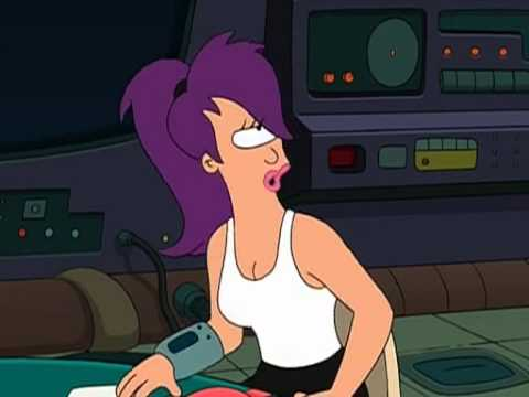 """Enos and Fry at the diner """"WHAT!?"""" - Futurama from YouTube · Duration:  18 seconds"""