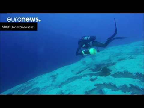 Malta's Azure Window Underwater
