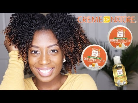 Twist Out feat. Creme of Nature Coconut Milk Line