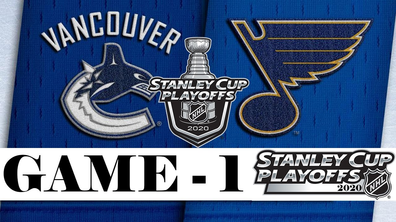 Vancouver Canucks vs St. Louis Blues | Stanley Cup 2020 | Game 1 | Aug.12, 2020 | Обзор