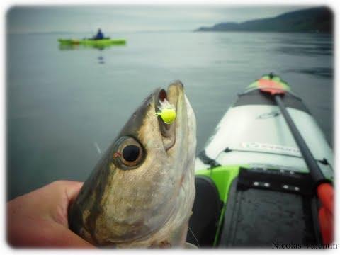 The Gantock , Clyde Estuary Kayak Fishing Adventure .