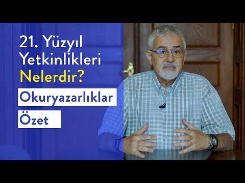 Prof. Dr. Erhan Erkut / 21. Yüzyıl Yetkinlikleri -  Okuryazarlıklar Özet