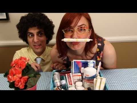 Budget Wedding Tips - How to Make a Bathroom Basket for Your Guests