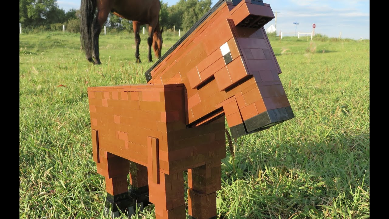 LEGO Horse - Minecraft - YouTube