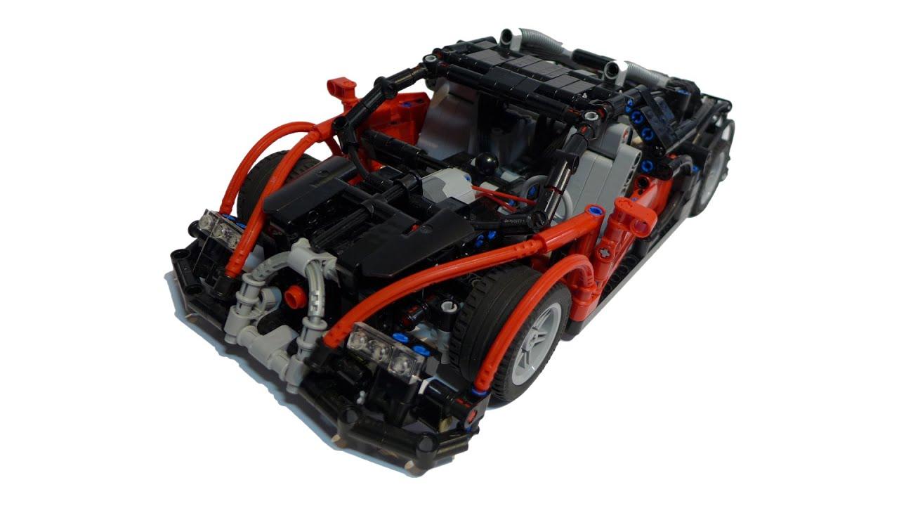 lego technic bugatti veyron youtube. Black Bedroom Furniture Sets. Home Design Ideas