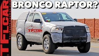 Breaking News: 2021 Ford Bronco Caught on Video Driving in the Wild - Here's What We Know!
