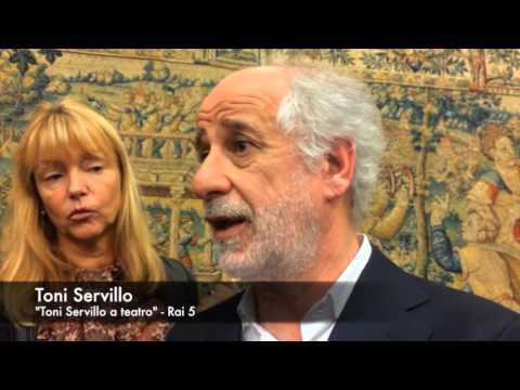 """Toni Servillo: """"Il talento senza lo studio è effimero, almeno a teatro"""". TVZoom.it"""