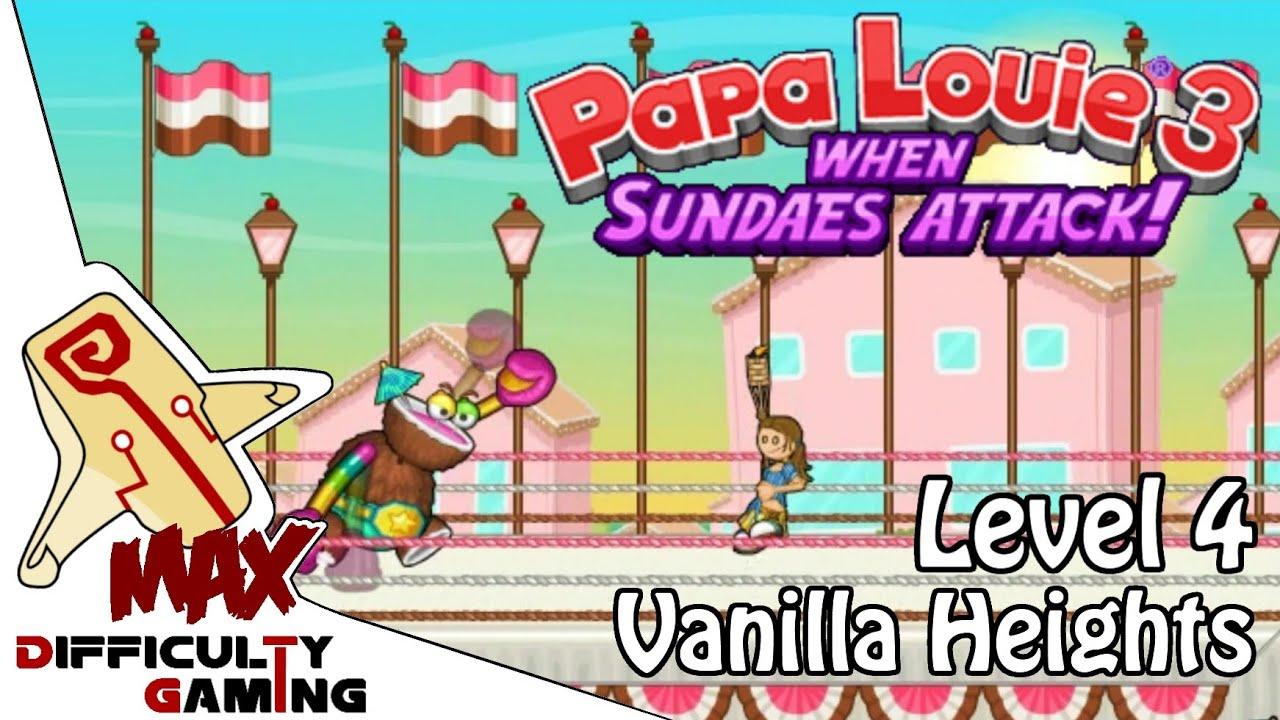 papa louie 2 walkthrough level 7