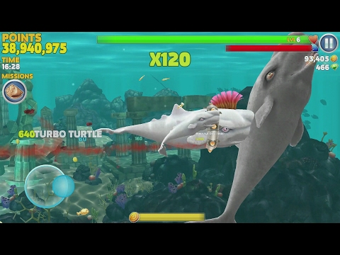 Hungry Shark Evolution Moby Dick Android Gameplay #11