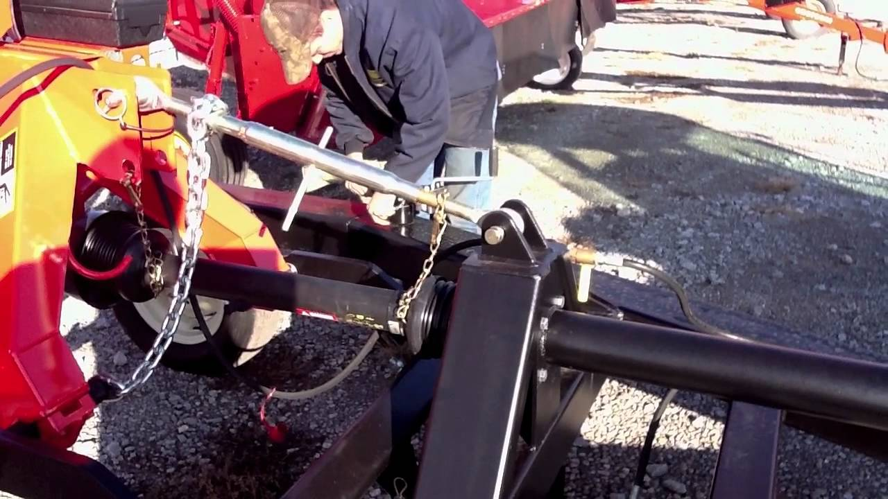 Lucas Mower Caddy- Attaching to Tractor