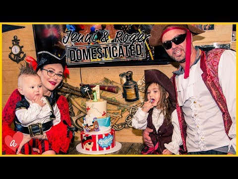 Ultimate Pirate First Birthday Party | Jenni & Roger: Domesticated