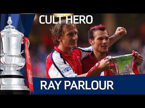 ARSENAL CULT HERO Ray Parlour