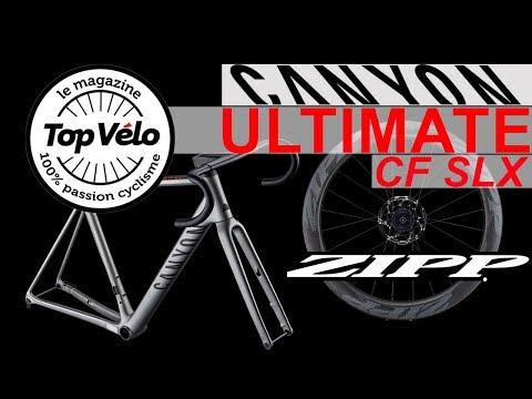 Image de la vidéo Canyon Ultimate CF SLX Disc et roues Zipp : La polyvalence pour le cycliste !