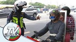 Bintana ginawang barrier: Mga naga-angkas sa motor sari-sariling sikap para di masita | TV Patrol