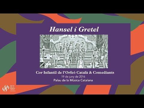 El Cor Infantil de l'Orfeó Català i Comediants presenten Hansel & Gretel