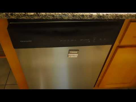 2017-11-21, 08 02 20, Frigidaire Dishwasher, Self Diagnostic, Test Debug Cycle Mode, LFBD2409LF2B