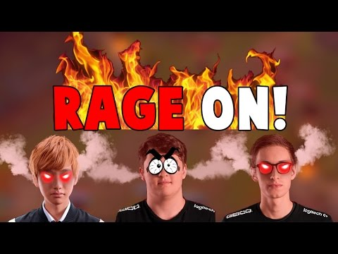 Random Pros Stream Moments #14 - RAGE ON!