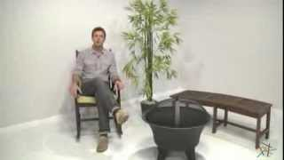 Cabod Rocking Chair With Cushion - Product Review Video