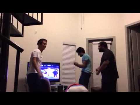 Rockets Fans React to Parsons then Damian Lillard Buzzer Beater