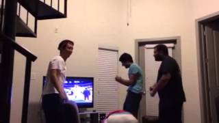 Rockets Fans React to Parsons then Damian Lillard Buzzer Beater