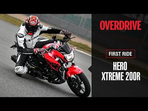 Hero Xtreme 200R First ride review   OVERDRIVE