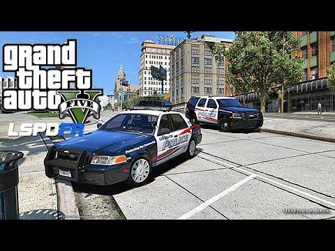 GTA 5 LSPDFR 0.3.1 - LET'S BE COPS - CITY  PATROL (GTA 5 PC POLICE MODS)