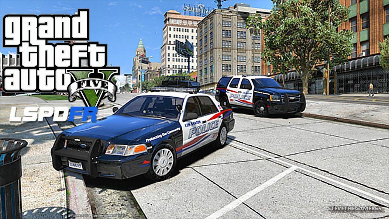 GTA 5 LSPDFR 0 3 1 - LET'S BE COPS - CITY PATROL (GTA 5 PC POLICE MODS)