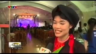 CLB Quan Họ Kinh Bắc   Xuân qua miền quan Họ 2015   VTV4 Tiếng Trung