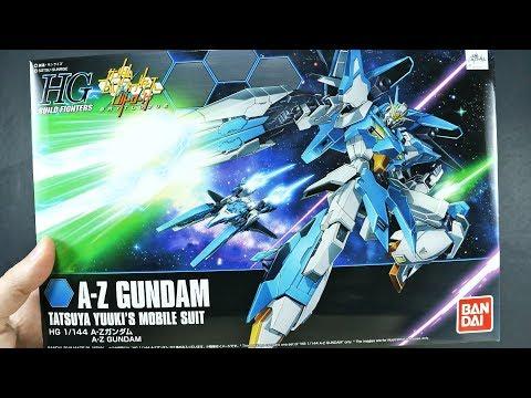 1503 - HGBF A-Z Gundam UNBOXING