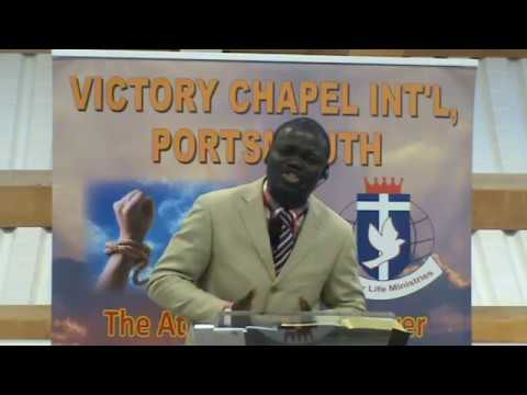 His Shame, Your Glory. Pastor Bisi Ige, Victory Chapel Int'l, Portsmouth