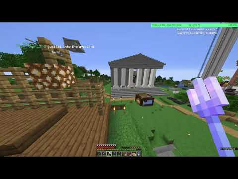 awesamdude | DREAM SMP MAKING A PLACE OF BUSINESS! (2020/11/24) | VOD
