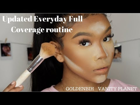 Full Coverage Routine With New Brushes