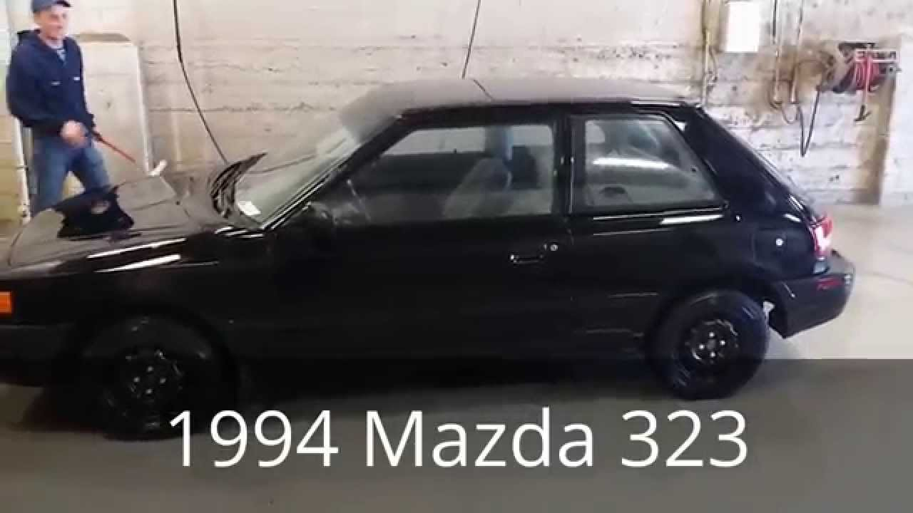 1994 mazda 323 walk around and test drive - youtube