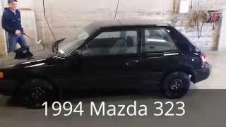 1994 Mazda 323 walk around and test drive