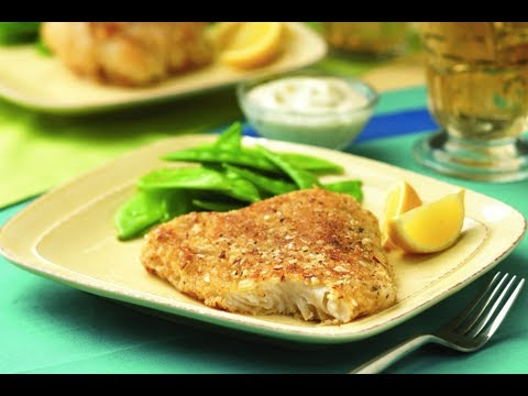 Almond Crusted Cod