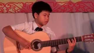 Sai gon ghita cover Quoc Vy ft Nguyen Khoi