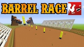 Things to do in Minecraft - Barrel Race